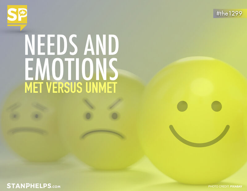 The Connection Between Needs And Emotions