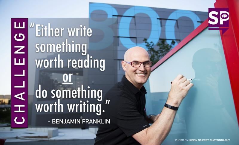 """""""Either write something worth reading or do something worth writing (about)."""" – Ben Franklin"""