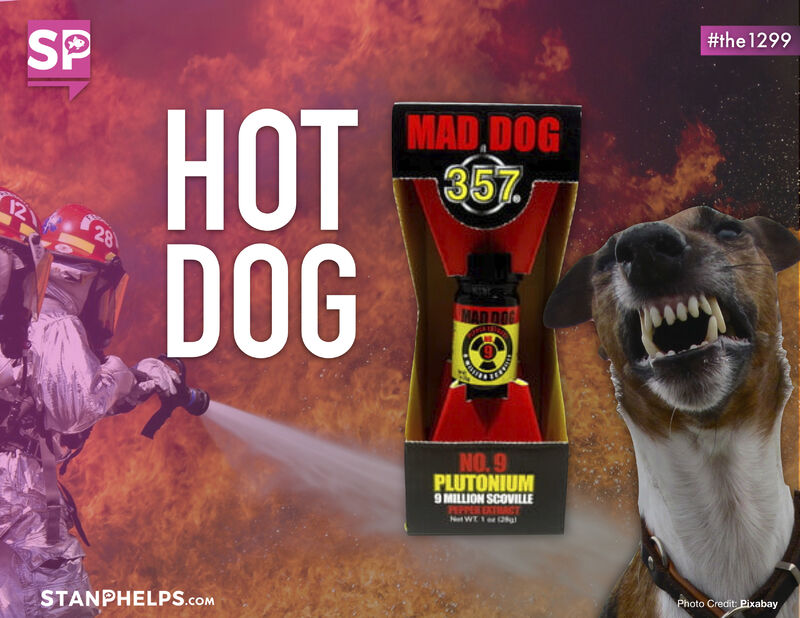 Would you try this hot sauce? Mad Dog 357 No. 9 Plutonium is the world's hottest