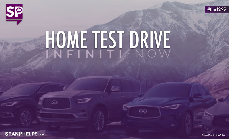 Infiniti Now allows customers to experience a dropoff 24-hour home test drive. Smart Strategy?