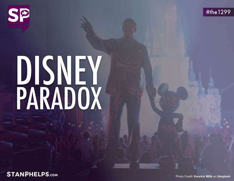 The DISNEY PARADOX of customer experience