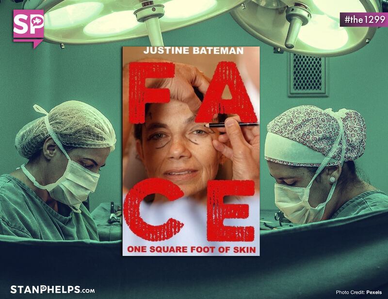 """Justine Bateman released a new """"Face"""" book"""