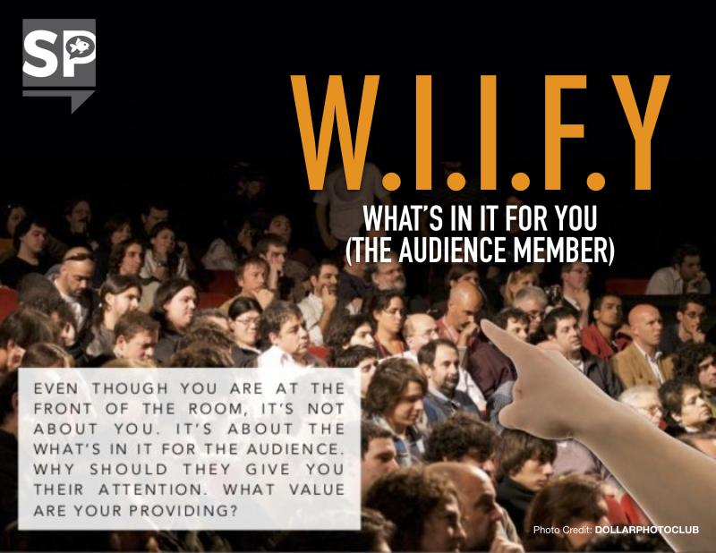 WIIFY: Characters to improve your presentation skills