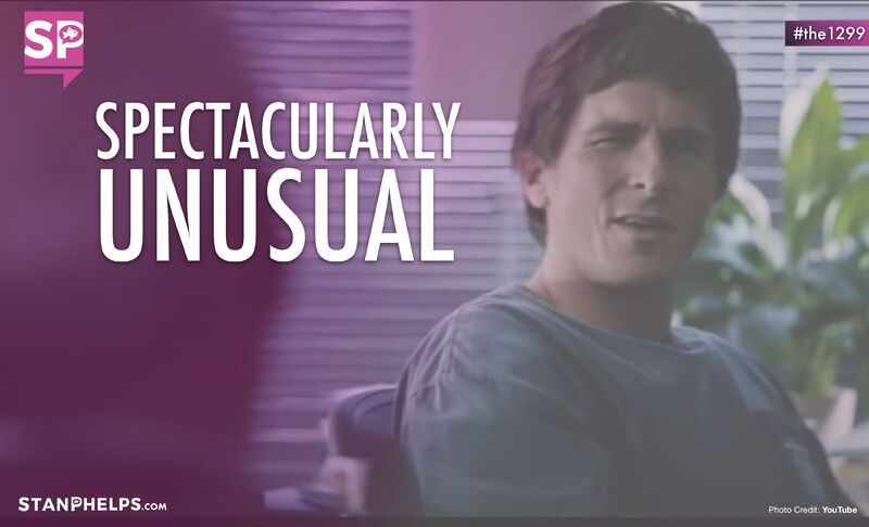 """To succeed in a spectacular fashion you have to be spectacularly unusual."" – Mike Burry"