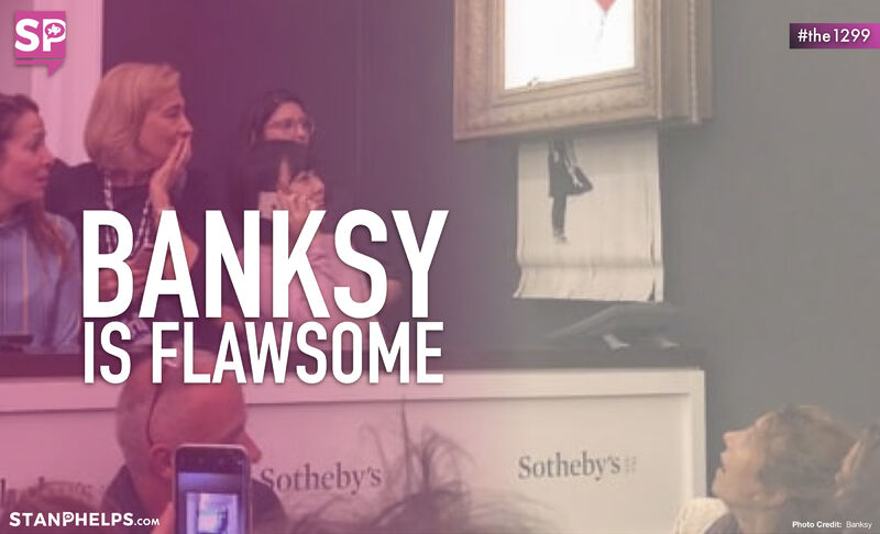 What can marketers learn from Banksy